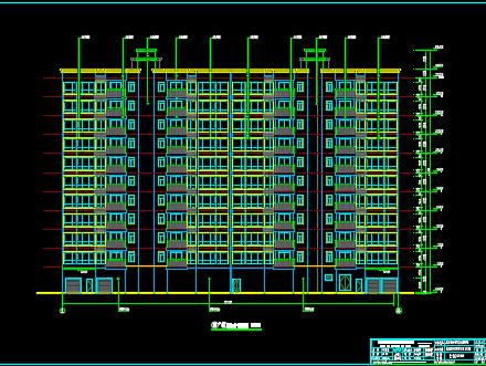 十一层办公楼建筑设计图纸