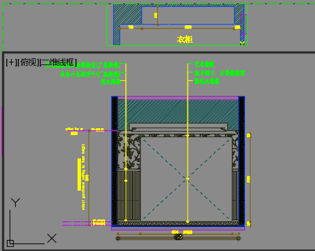 某板式家具定制卖场装修设计图纸