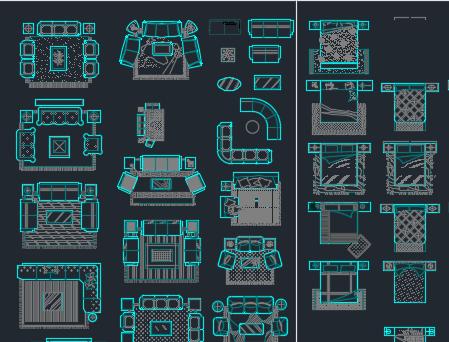 CAD图库(含工装及家装)