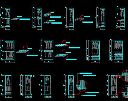 衣柜设计详图