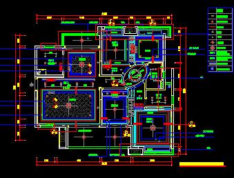 81款天花顶棚CAD装修设计图纸
