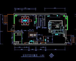 三层带阁楼带地下室别墅装修施工图纸