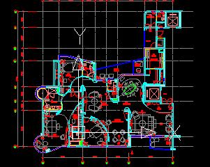 三房三厅大户型住宅装修施工图纸