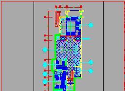 二层带夹层带地下层别墅装修施工图纸