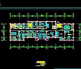 某六层带夹层公寓式办公楼装修施工图
