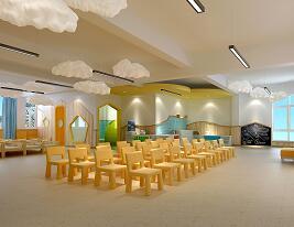 2500平米三层幼儿园装修施工图纸