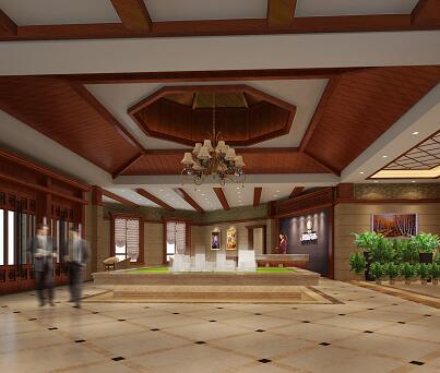中式售楼部会所装修施工图纸