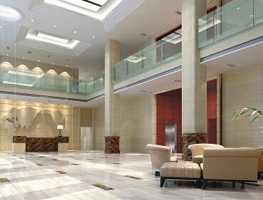 五层豪华中式办公楼装修施工图纸
