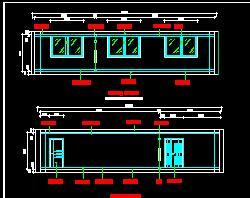 某大学网络中心机房装修、电气施工图