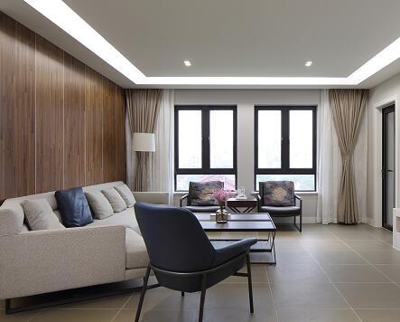 四房两厅住宅装修施工图纸(简约中式风格)