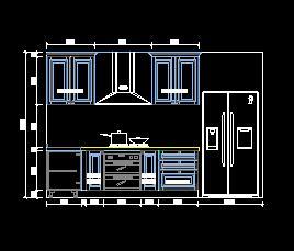厨房橱柜家具设计图纸