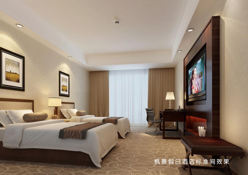 旅店尺度间装修施工图纸