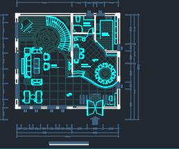 三层别墅建筑装修施工图