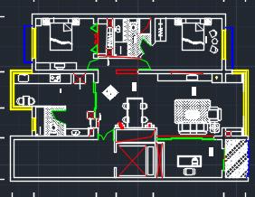别墅装修建筑施工图