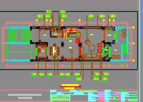 三层联排别墅样板房装修施工图(附效果图)