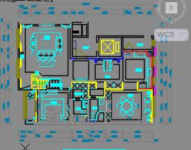 230平米新中式风格住宅样板间装修施工图(附效果图)