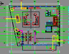 三层别墅样板房装修施工图(附效果图及物料表)
