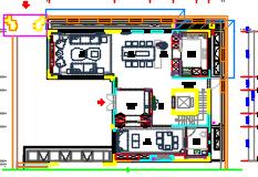 现代风格三层别墅样板间装修施工图(附效果图及方案汇报册及物料规范书及机电图纸及设计规范)
