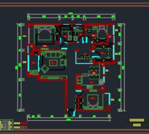 161平米住宅装修施工图(附效果图)
