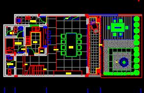 四层小型别墅装修施工图