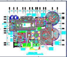 二层新古典豪华欧式别墅装修施工图