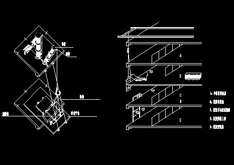装饰装修分项工程CAD常用图纸
