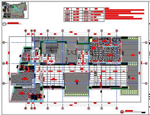 四居室样板间室内装修设计图纸(含效果图+物料)