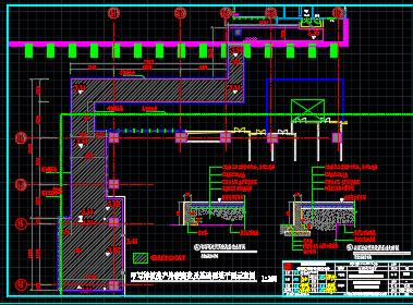 办公样板间装修设计图纸(效果图、施工图、机电图、物料表)