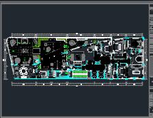 517平米住宅样板房装修施工图(含效果图)