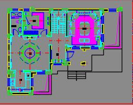 三层法式别墅样板间装修施工图